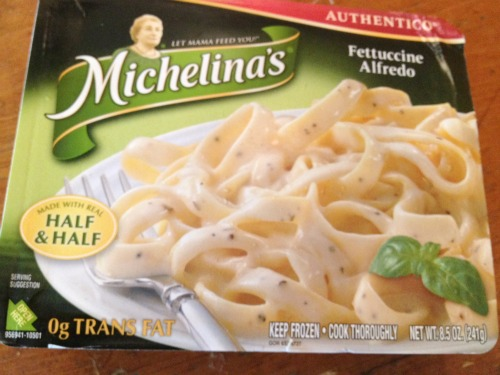 Michelina's fettucine alfredo