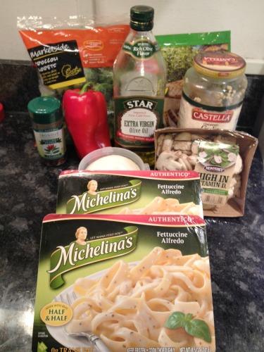 spicy michelina's alfredo ingredients