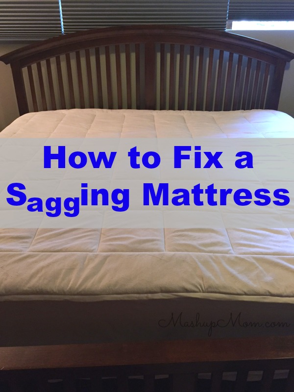 Fantastic How To Fix A Sagging Mattress On The Cheap Creativecarmelina Interior Chair Design Creativecarmelinacom