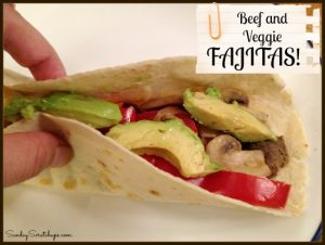 Beef and Veggie Fajitas