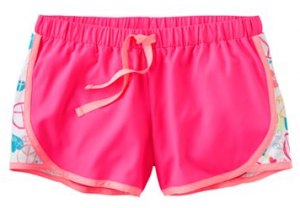 kohls girls shorts