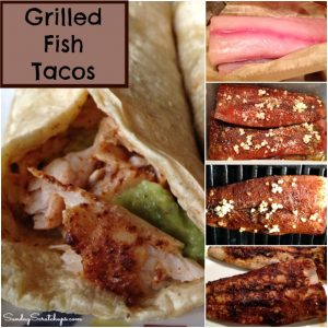 Grilled Fish Tacos — made with fresh Mahi Mahi