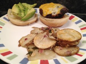 prosciutto-potatoes-with-burger