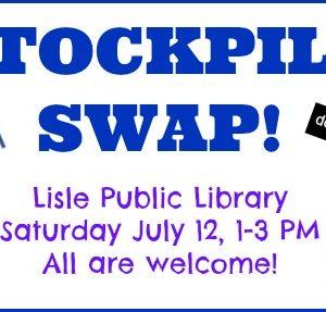 Stockpile Swap Saturday July 12