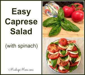 easy-caprese-salad-with-spinach