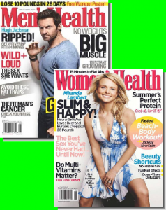 mens health womens health bundle