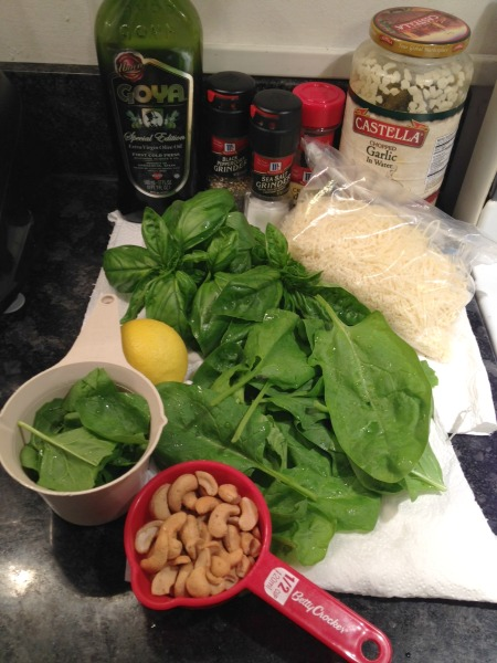 spinach-basil-pesto-ingredients