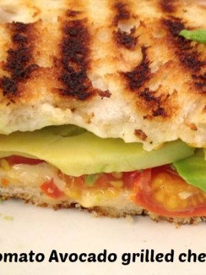 Cherry tomato avocado grilled cheese — Plus Jewel sales to go with