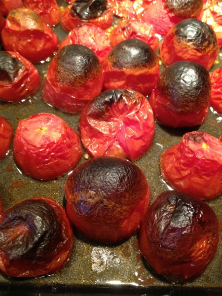 fire-roasted-tomatoes-on-cookie-sheet