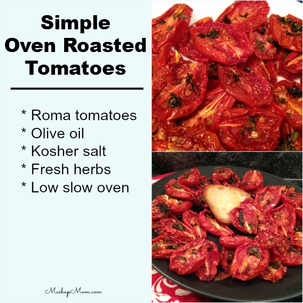 How to Make Slow Roasted Tomatoes