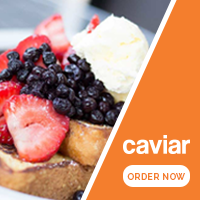 New Caviar restaurant delivery service — First one is free