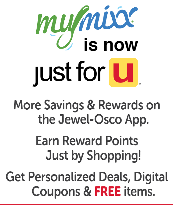Jewel MyMixx officially launches tomorrow -- Advertised deals