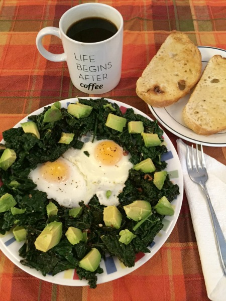 kale-eggs-toast-and-coffee