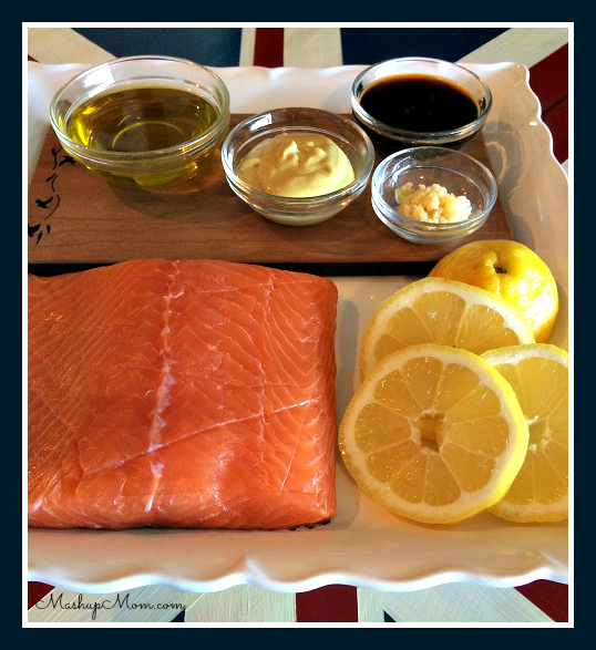 Asian Salmon ingredients