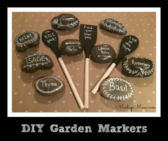 Image Result For Vegetable Garden Markers