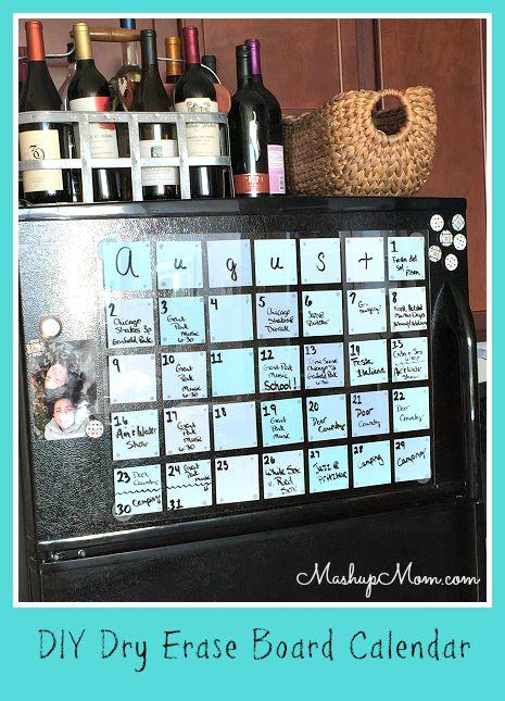 Calendar fridge