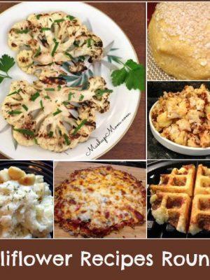 Cauliflower Recipes Roundup