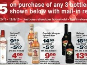 Clean new post for the Jewel Smirnoff rebate deal