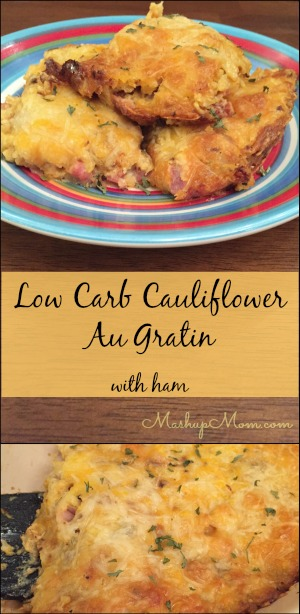 low-carb-cauliflower-au-gratin-with-ham