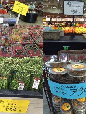 Why I love Caputo's, lol — Even cheaper organic strawberries