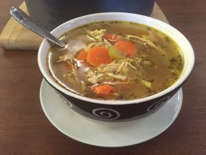 bowl-of-homemade-chicken-soup