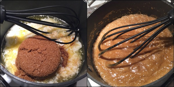 making-toffee