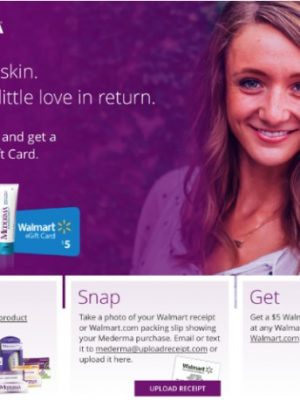 Buy, Snap, Get Savings on Mederma at Walmart