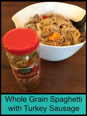 ALDI Giveaway + a Whole Grain Spaghetti Recipe