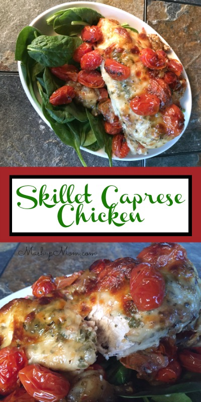 cast-iron-skillet-caprese-chicken
