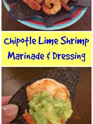 Chipotle Lime Shrimp — Marinade & Dressing for Shrimp Taco Salad!