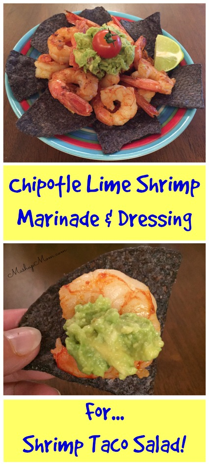 Chipotle Lime Shrimp - Marinade & Dressing for Shrimp Taco Salad ...
