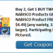 Stack up Nabisco savings and get three boxes as low as net $.09!