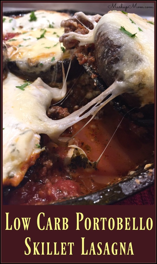 low-carb-portobello-skillet-lasagna