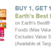 New Earth's Best coupon = Great Target deals!