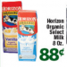 Print now save later — Horizon organic milk singles at Tony's