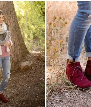 Ankle Boot AND Blanket scarf $29.95 shipped