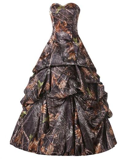 Camo Wedding Dresses.Amazon Oddities 9 30 16 Camo Wedding Gown