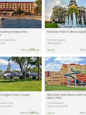 10% off Groupon Getaways — Great Wolf Lodge and more