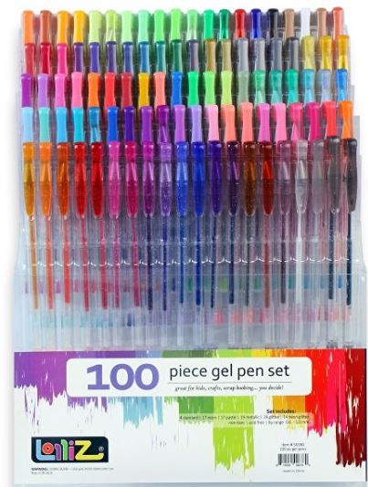 lolliz lolliz lolliz get your gel pens here
