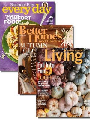 Fall into a great magazine bundle deal — Three favorites for $12.00