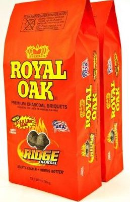 Twin pack Royal Oak charcoal briquets just $5.00!