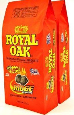 Twin pack Royal Oak charcoal briquets just $5.00!