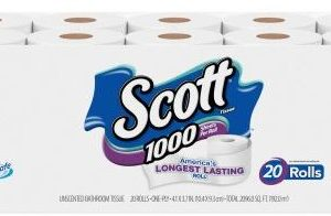 Cheap Scott 1000 toilet paper, free in store pickup
