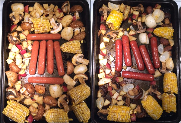 sheet-pan-sausage