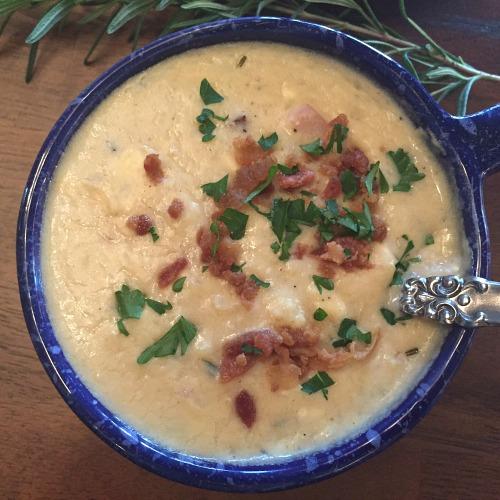 bowl-of-ham-and-potato-soup
