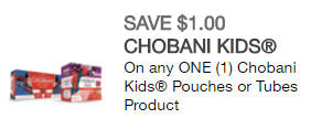 New coupons include Chobani, Bob Evans, more