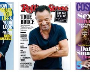 Weekend magazine bundle sale — any three for $12.00!