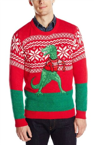 lets get right into the holiday spirit in todays weird find on amazon with this stylish blizzard bay mens t rex hates sweater ugly christmas sweater - Ugly Christmas Sweater Amazon