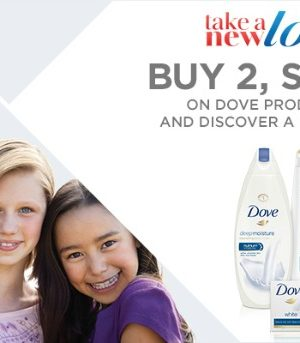 Take a New Look at Dove — And Save at Jewel!