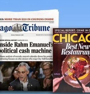 Who got their Chicago Tribune from the Groupon deal today?